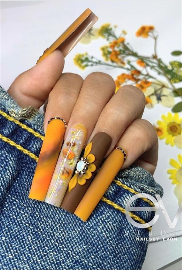other flower nails made your nails more attractive