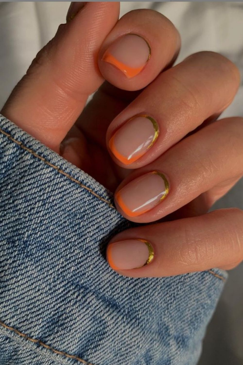 Pretty Coral Nails For You To Go To Beach In Summer!