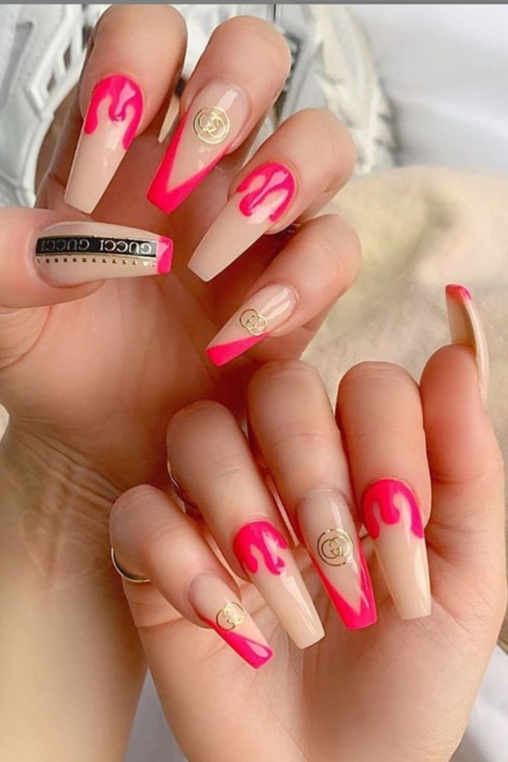 Elegant French Coffin Nails To Try At Home Right Now!
