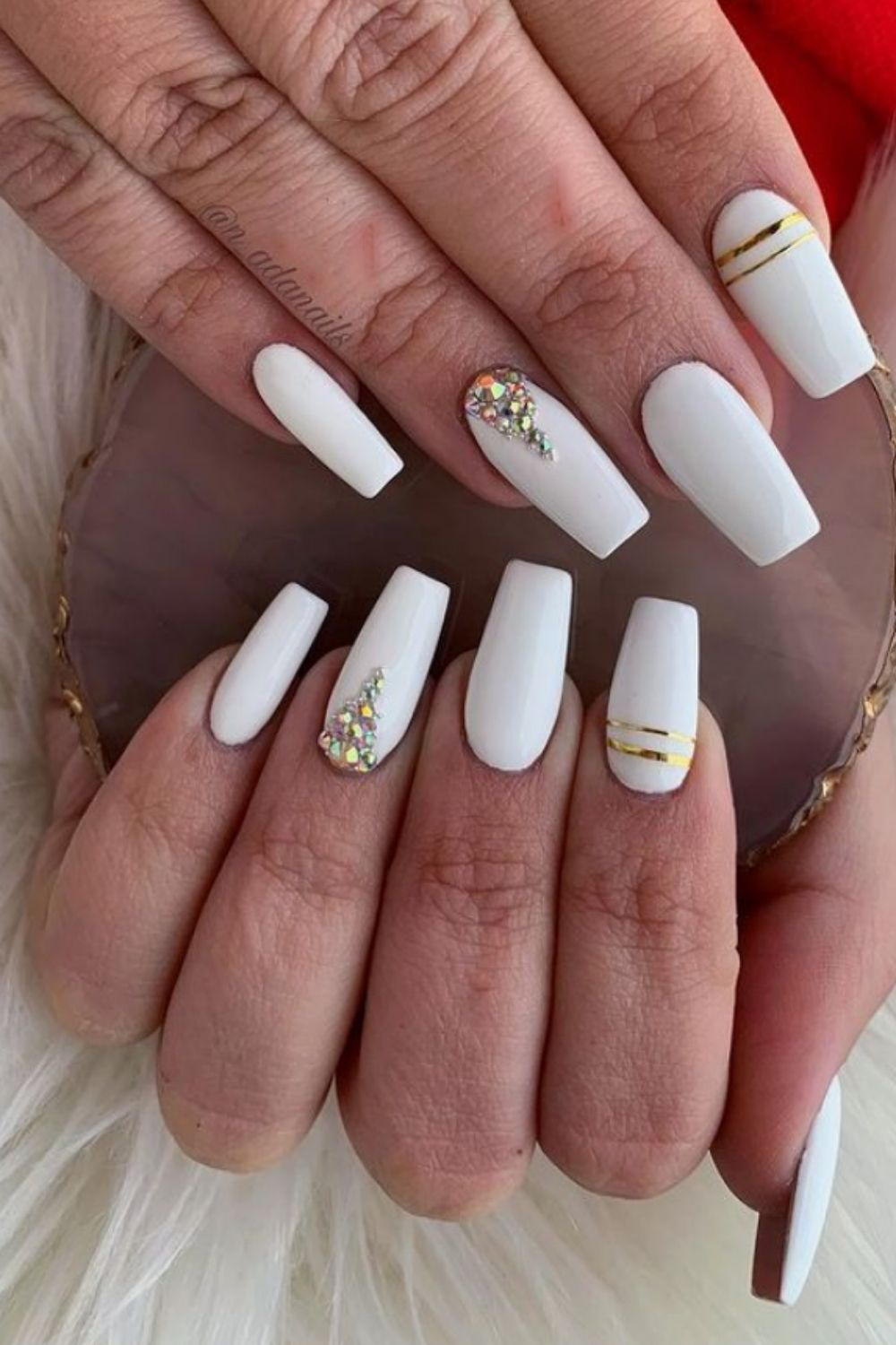 Amazing White Acrylic Nail Ideas to Inspire You This Summer