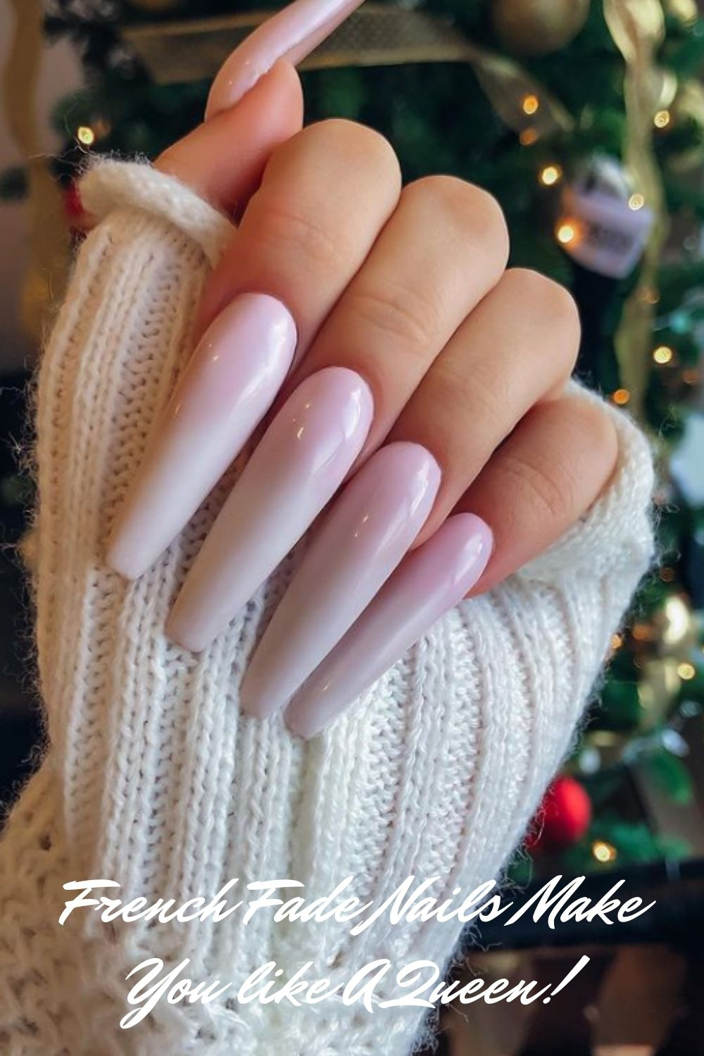 43 Best Trendy French Fade Nails Make You Like A Queen!