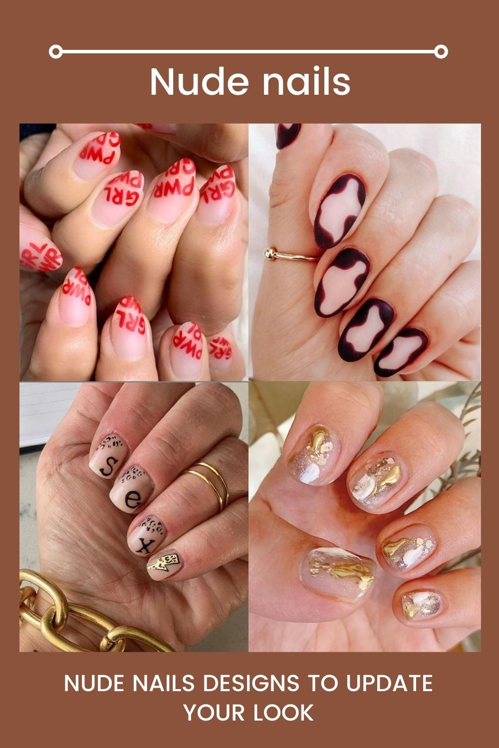 2021 nude color nails | Nail design updates your look
