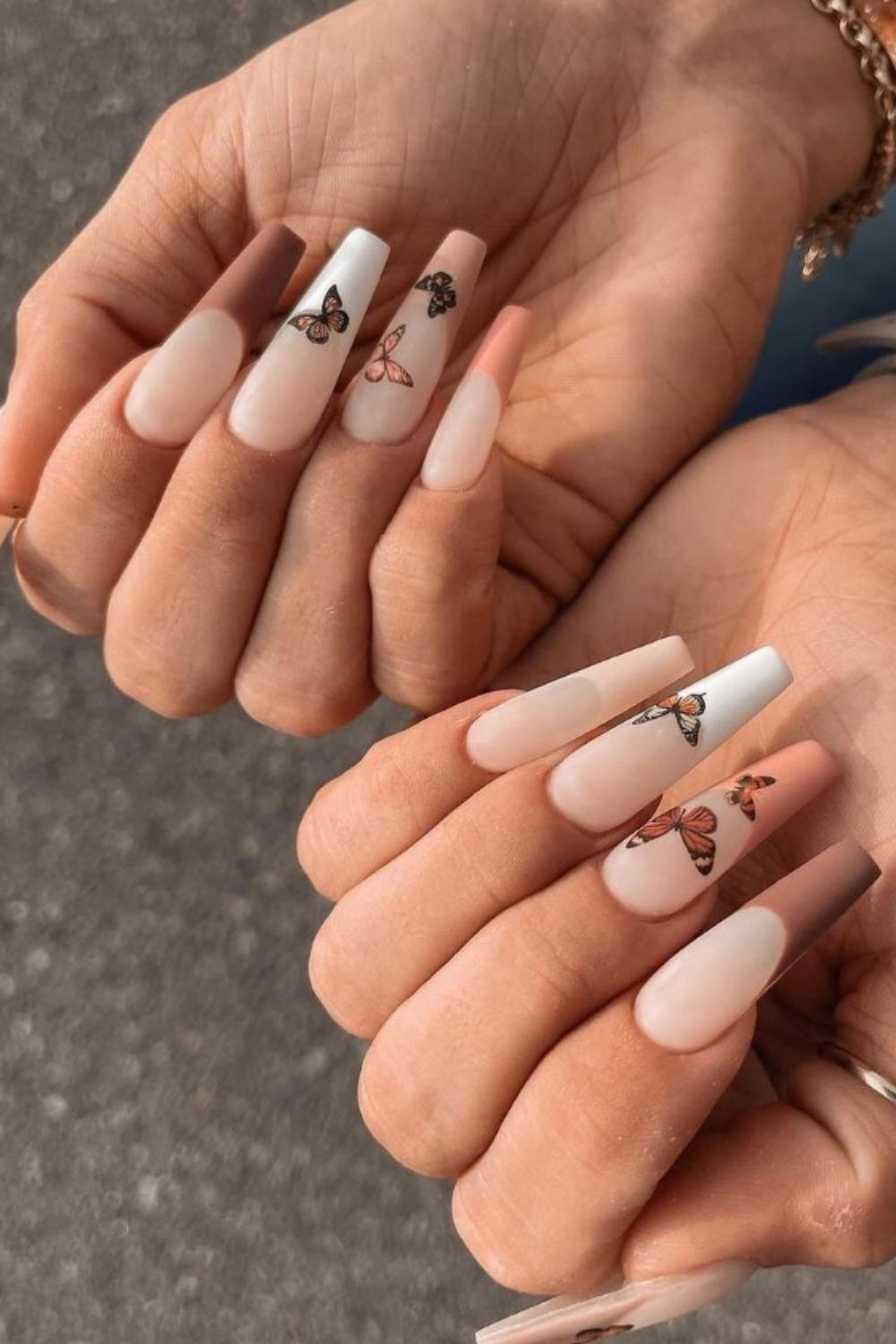 Hottest Matte Coffin Nails to Inspire You This Summer