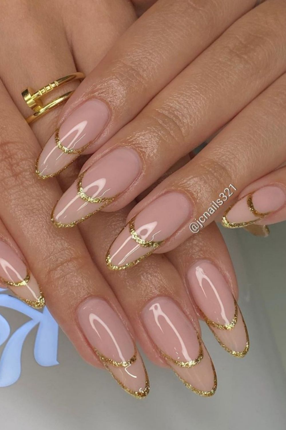 Best long almond nails for you in the summer holiday.