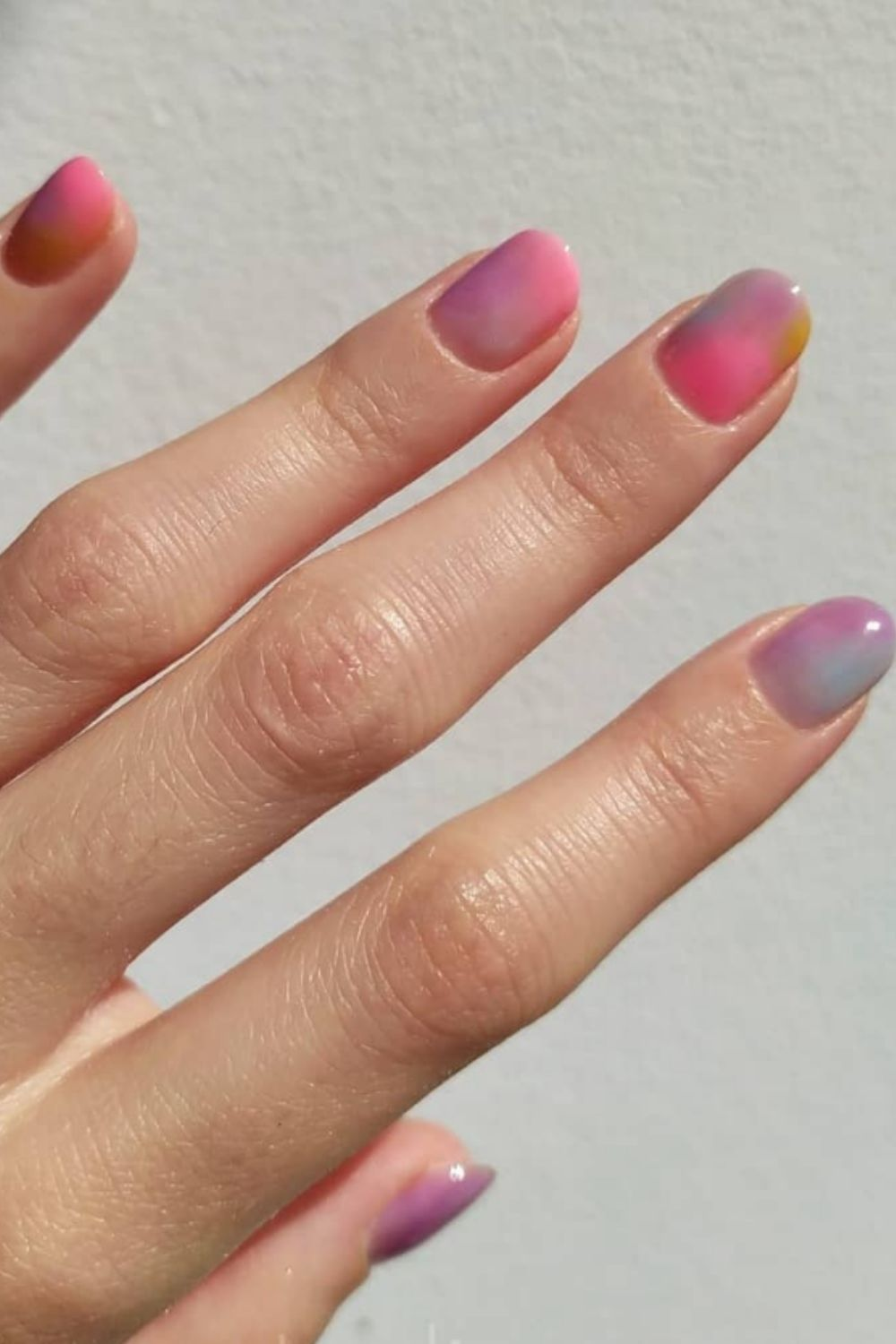 Amazing Summer Tie Dye Nails for Your Summer Vacation 2021
