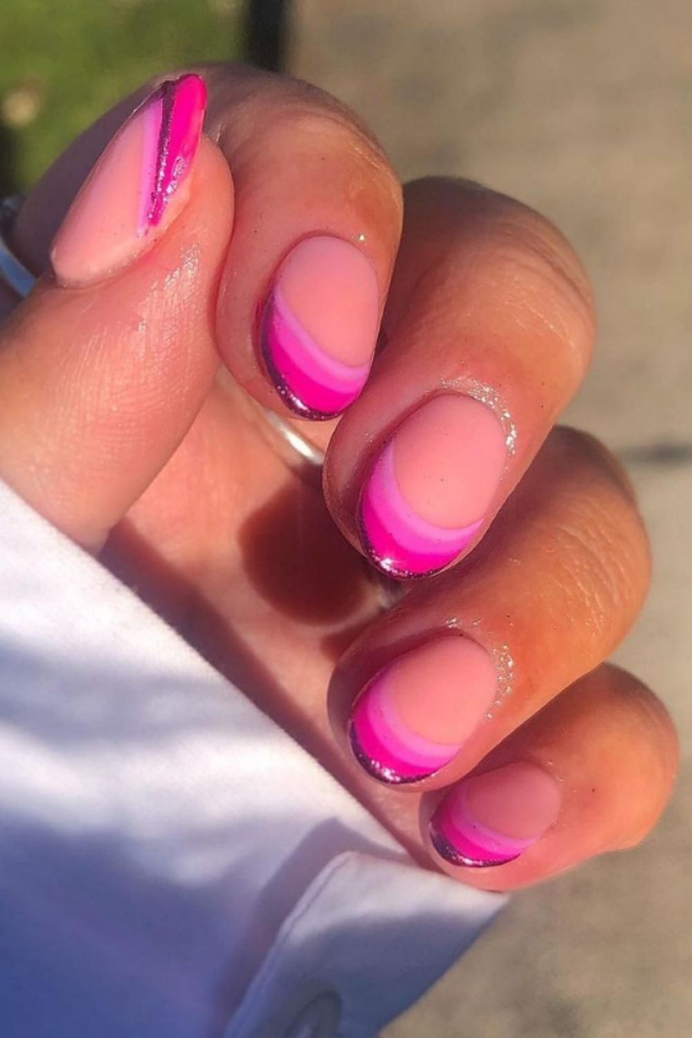 Fresh French Almond Nails You Must Try This Summer