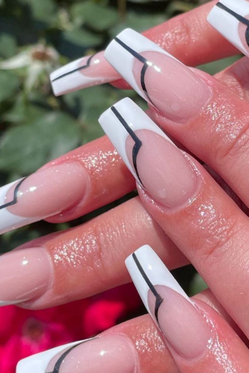 Summer coffin nails inspiration | Ideas From Manicurists Around the World