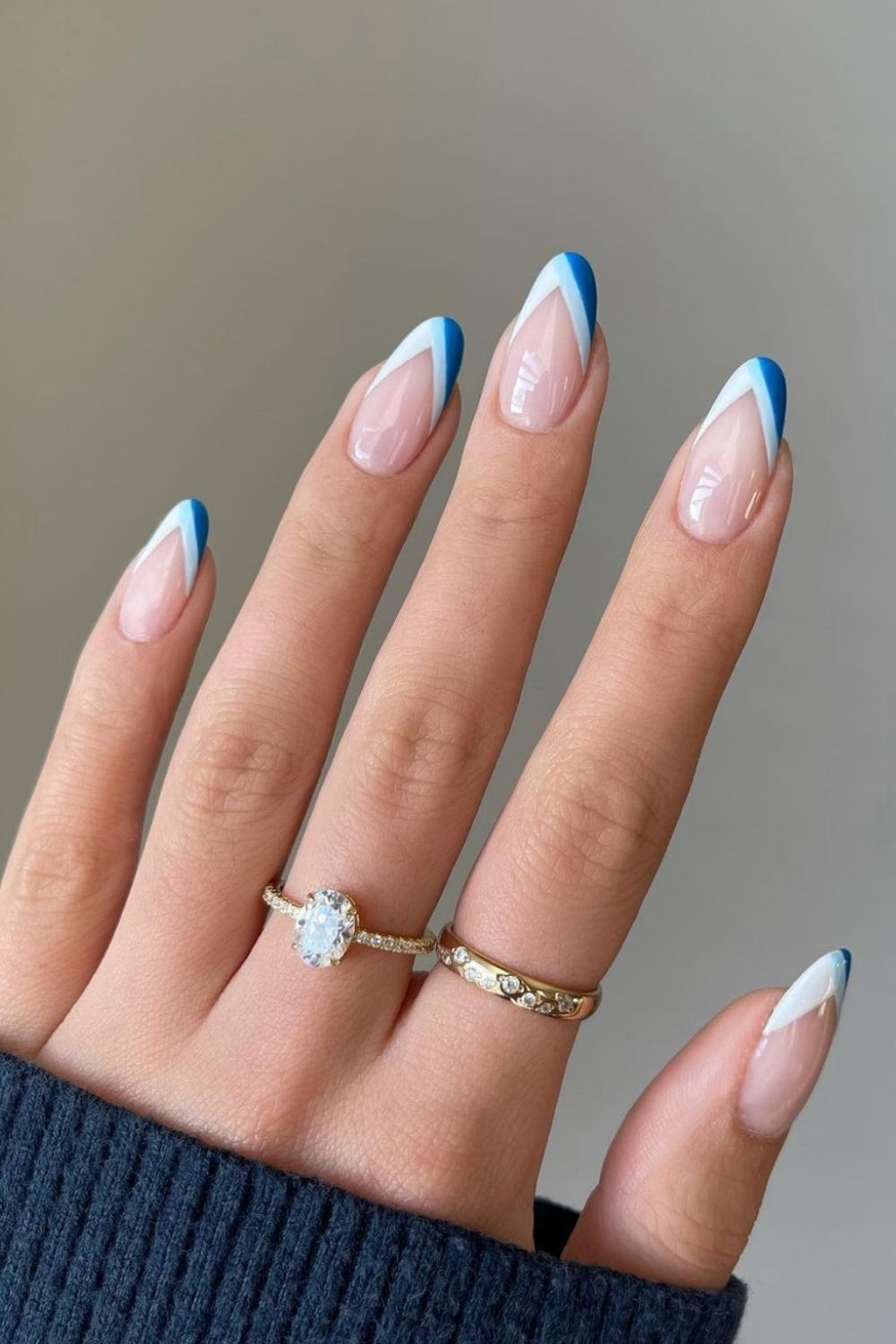 30 Best Fall French tip almond nails design to try 2021